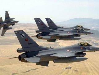 Eylem hazırlığındaki PKK'lılara hava harekatı