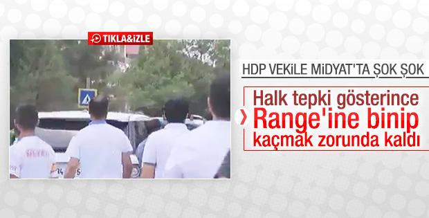 HDP'li Altan Tan Midyat'tan kovuldu