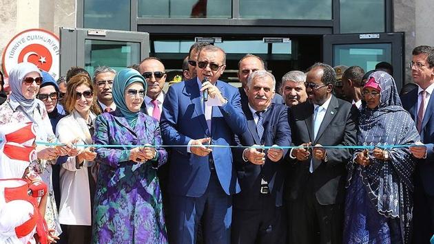 Erdoğan Somali'de Afrika hedefini açıkladı
