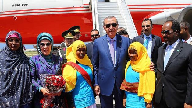Cumhurbaşkanı Erdoğan'ın ziyaretleri Afrika basınında