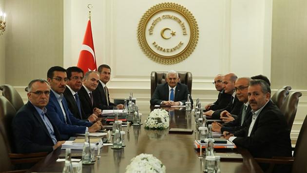 """""""Ekonomi Koordinasyon Kurulu"""" toplantısı başladı"""