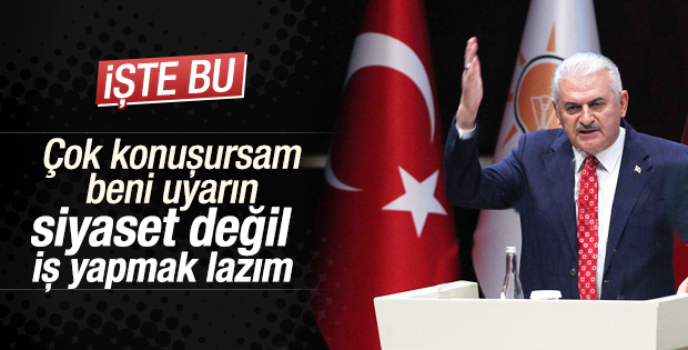 Başbakan Yıldırım: Hizmete devam edelim