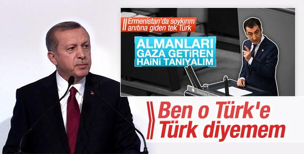 Erdoğan'dan Cem Özdemir'e: Ben o Türk'e Türk diyemem