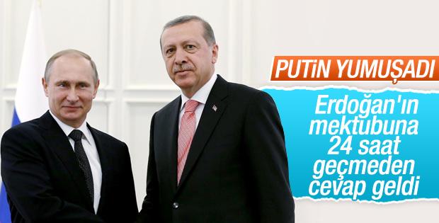 Kremlin'den Türkiye'nin mektubuna yanıt