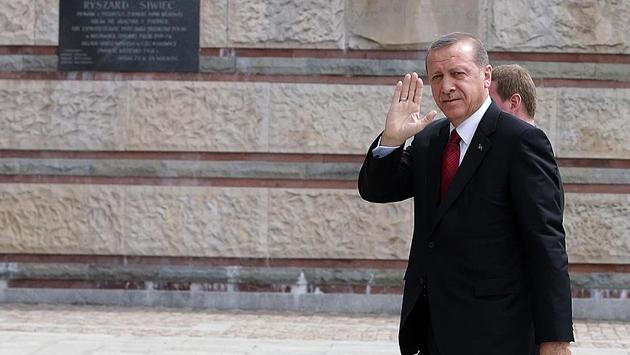 Erdoğan NATO Zirvesi'nin yapılacağı Ulusal Stadyum'a geldi