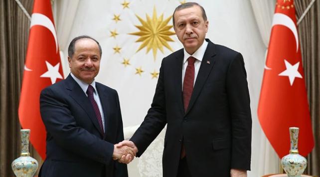 Cumhurbaşkanı Erdoğan, IKBY Başkanı Barzani ile görüşecek