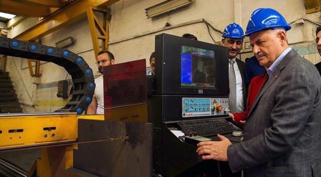 Başbakan Yıldırım'dan OSTİM esnafına ziyaret