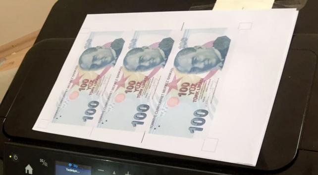 FETÖ zanlısının evinde sahte banknot ele geçirildi