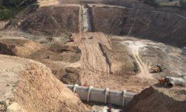 Akçay Barajı'nda sona gelindi