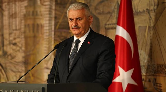 Başbakan Yıldırım'dan Dursun'a tebrik telgrafı