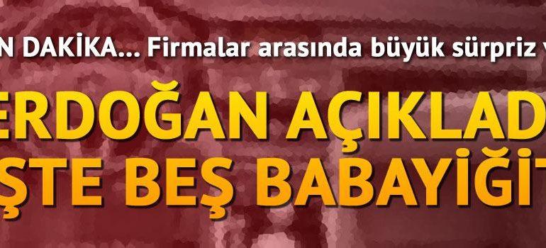 Türkiye'nin otomobili için imzalar atıldı: 5 babayiğit kolları sıvadı !