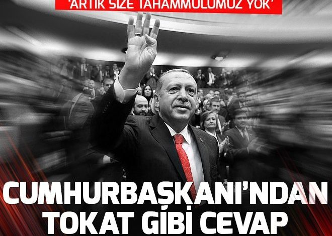 Cumhurbaşkanı Erdoğan'dan AKM'yi eleştirenlere tokat gibi cevap.