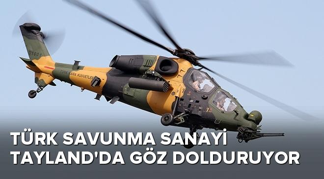 Türk savunma sanayi Tayland'da göz dolduruyor