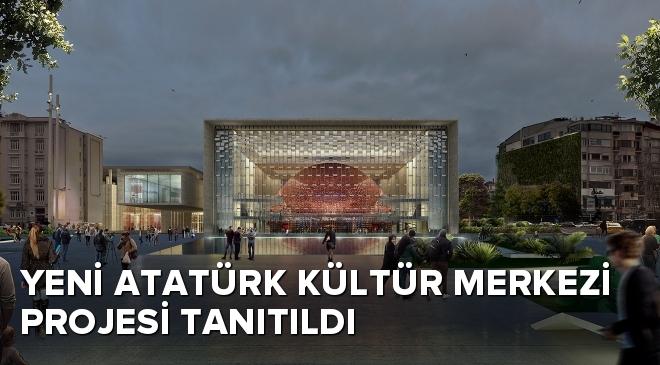 Yeni Atatürk Kültür Merkezi Projesi tanıtıldı