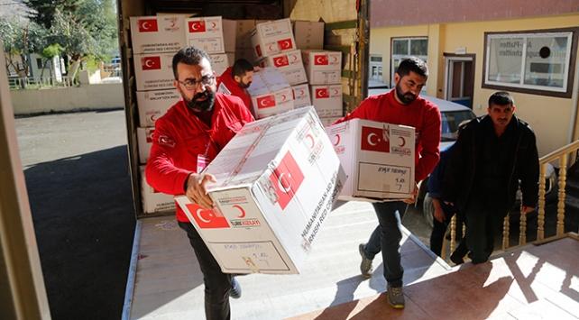 Irak'a ilk yardım elini uzatan ülke Türkiye