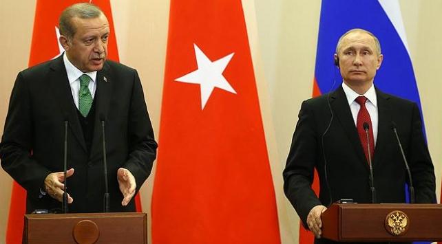 Cumhurbaşkanı Erdoğan: Suriye'de siyasi çözüme odaklanılmasında mutabıkız
