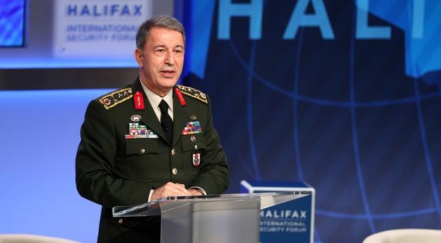 Halifax Uluslararası Güvenlik Forumu'ndan Akar'a özür