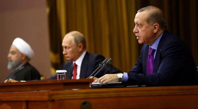 Cumhurbaşkanı Erdoğan: Terörist grupların dışlanması önceliğimiz