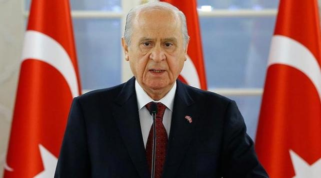 MHP Genel Başkanı Bahçeli'den ittifak formülü