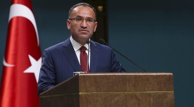 Bekir Bozdağ: Kılıçdaroğlu, iftirasının hesabını yargı önünde verecektir
