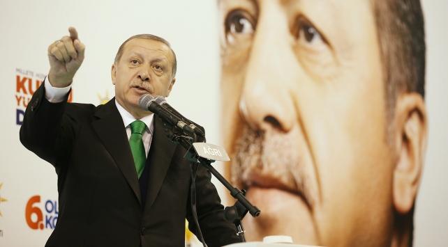 Cumhurbaşkanı Erdoğan: Bu vatanın tek bir karışına kimseye el uzattırmayız