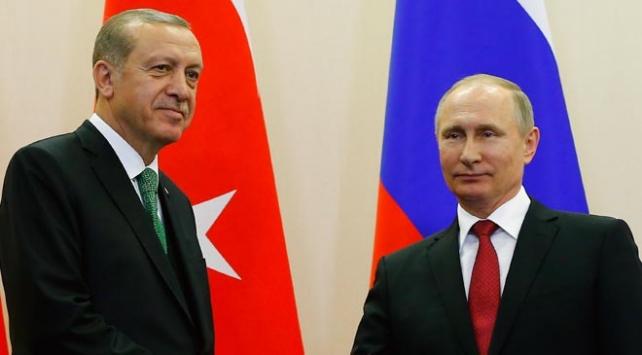 Cumhurbaşkanı Erdoğan ile Putin bu akşam telefonla görüşecek