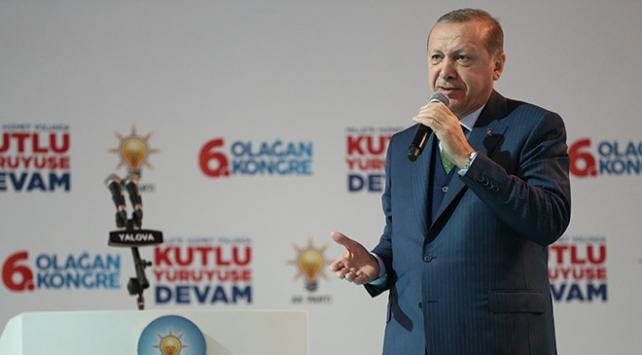 Cumhurbaşkanı Erdoğan: Kudüs'e uzanan her eli İstanbul'a uzanmış sayarız