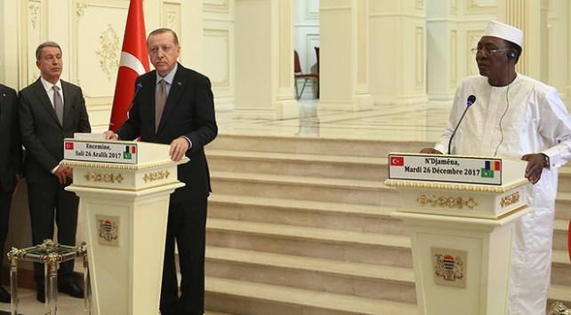 Cumhurbaşkanı Recep Tayyip Erdoğan: Çad hükümetine FETÖ'yü terör örgütü ilan ettikleri için teşekkür ediyorum