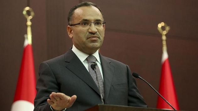 Başbakan Yardımcısı Bekir Bozdağ'dan CHP'li Aldan'ın KHK açıklamasına tepki