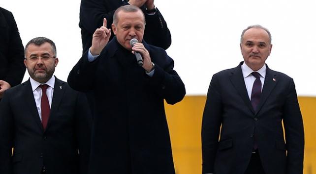 Cumhurbaşkanı Recep Tayyip Erdoğan: Tarihi bilmek için Payitaht Abdülhamid'i izleyin