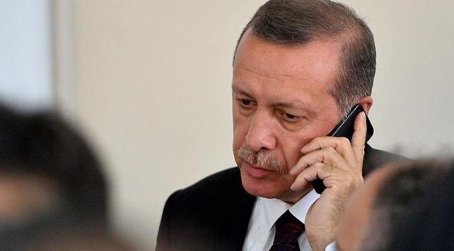 """Cumhurbaşkanı Erdoğan'dan, CHP Genel Başkanı Kılıçdaroğlu'na """"geçmiş olsun"""" telefonu"""