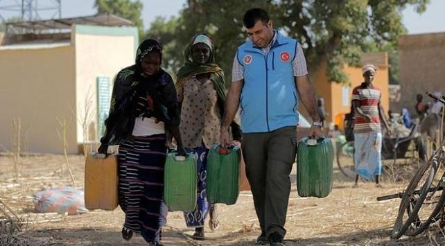 Çadlılar Türkiye'nin yardım eliyle temiz suya kavuştu
