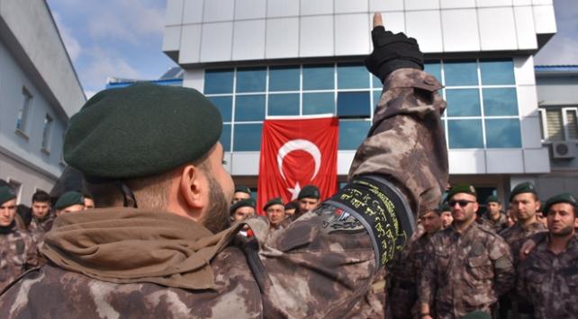 Cumhurbaşkanı Erdoğan'a suikast girişimde bulunan darbecileri yakalayan TİM Afrin'de