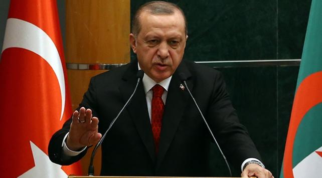 Cumhurbaşkanı Erdoğan'ın Cezayir ziyaretinin ilk gününde 1 milyar dolarlık yatırım