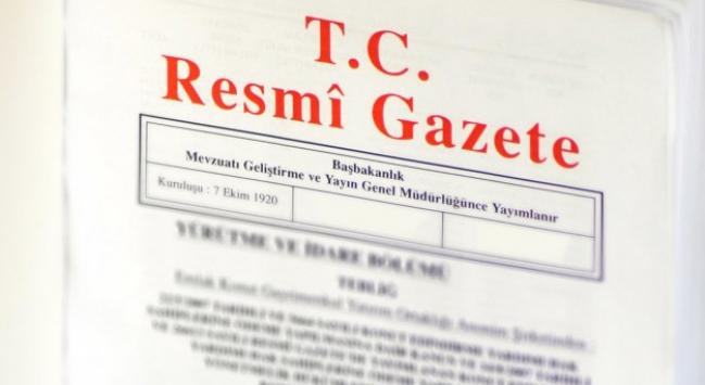 Yeni Bakanlar Kurulu Kararları Resmi Gazete'de yayımlandı