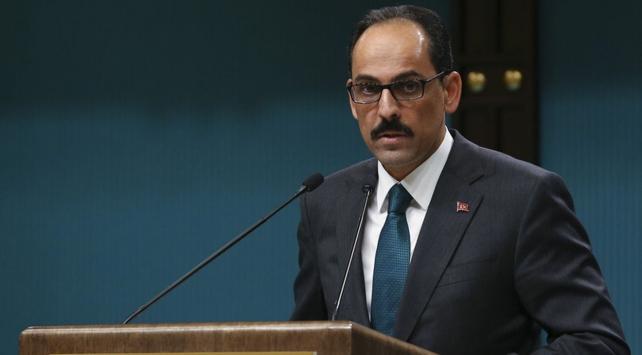 Cumhurbaşkanlığı Sözcüsü Kalın: Afrin'in ikinci bir Kandil olması engellenmiştir
