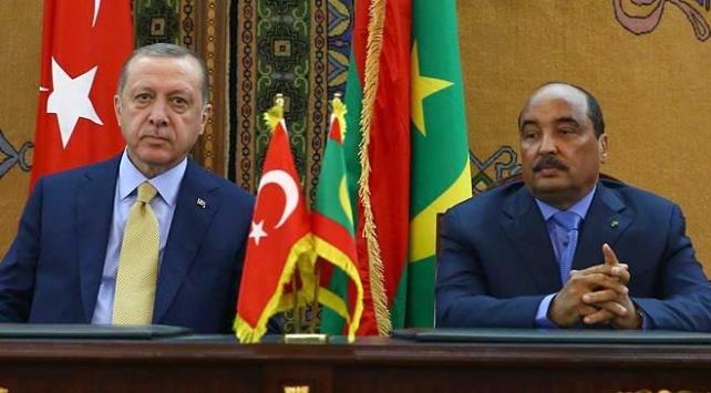 Cumhurbaşkanı Erdoğan, Moritanyalı mevkidaşı Abdulaziz ile görüştü