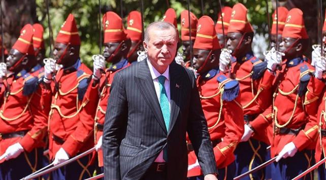 Cumhurbaşkanı Recep Tayyip Erdoğan Senegal'de