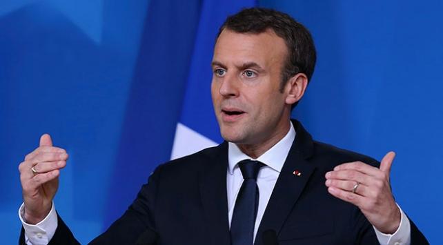 """Macron'dan Trump'a """"Kudüs"""" eleştirisi"""