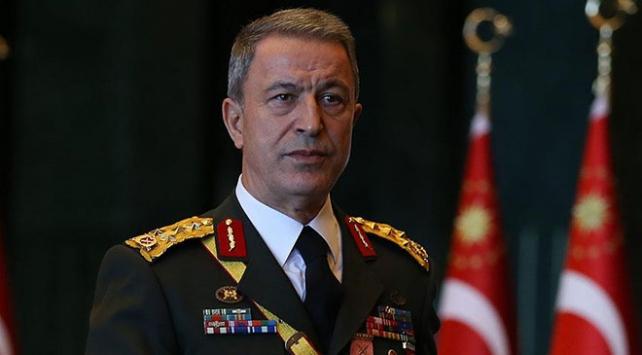 Genelkurmay Başkanı Orgeneral Akar'dan şehit Taner Kart için taziye mesajı