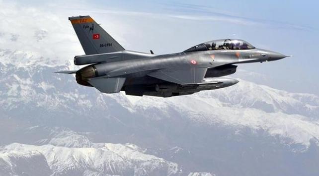 Irak'ın kuzeyine hava harekatı: 8 hedef imha edildi