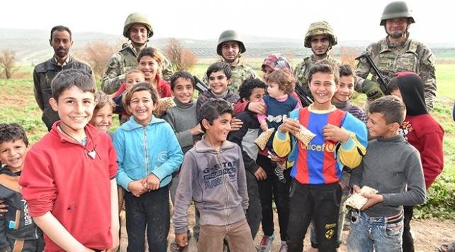 Afrin'de 'temiz kalpler' bir arada