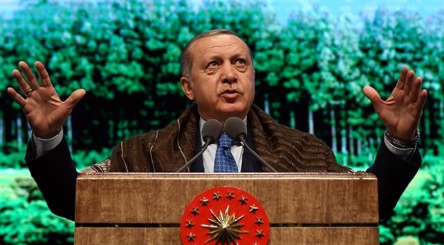 Cumhurbaşkanı Erdoğan'dan ABD'ye 'Münbiç' tepkisi