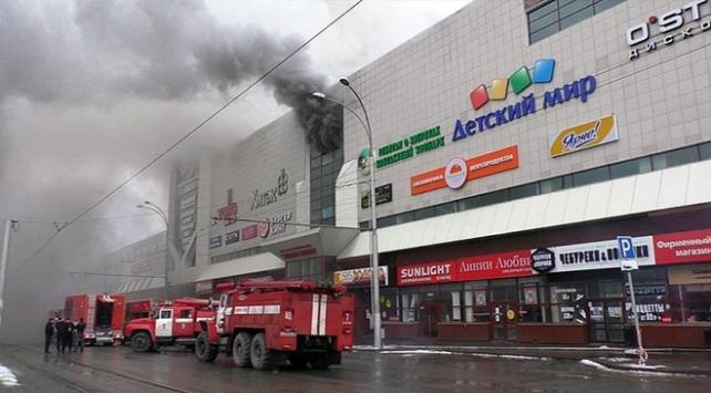 Rusya'da yanan AVM'nin müdürü ve güvenlik görevlisi tutuklandı