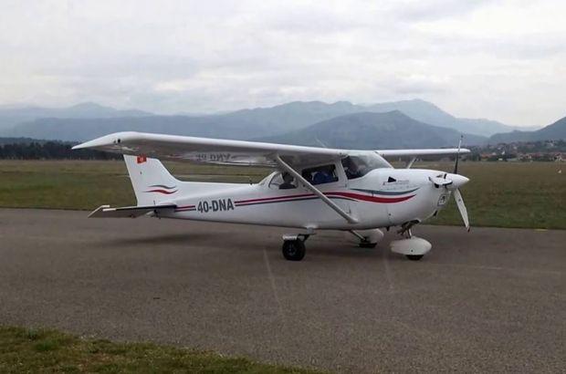 Kolombiya'da askeri uçak düştü! 2 kişi öldü