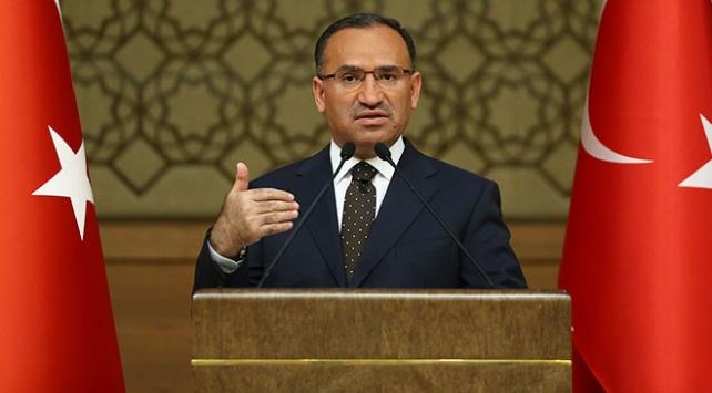 Başbakan Yardımcısı Bozdağ: Türkiye'ye dönük tehdit varsa, orası Türkiye için hedeftir