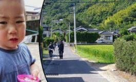 Kayıp 2 yaşındaki Japon çocuk 3 gün sonra bulundu. Nehirden su içerek hayatta kalmış
